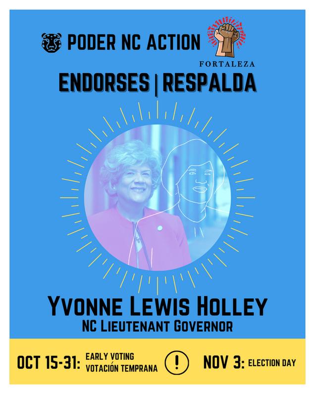 Yvonne Lewis Holley | North Carolina Lieutenant Governor