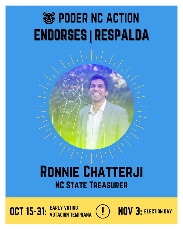 Ronnie Chatterji | North Carolina State Treasurer