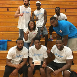 Shout out to the winning team today from our 1st annual basketball tournament for school supplies.jp