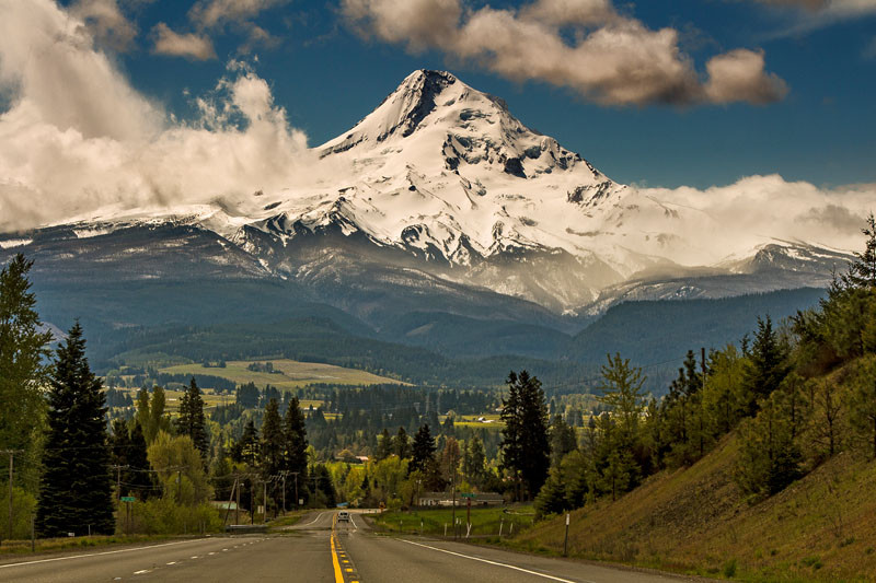 Mt Hood from the north