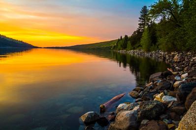 Wallowa Lake Sunset