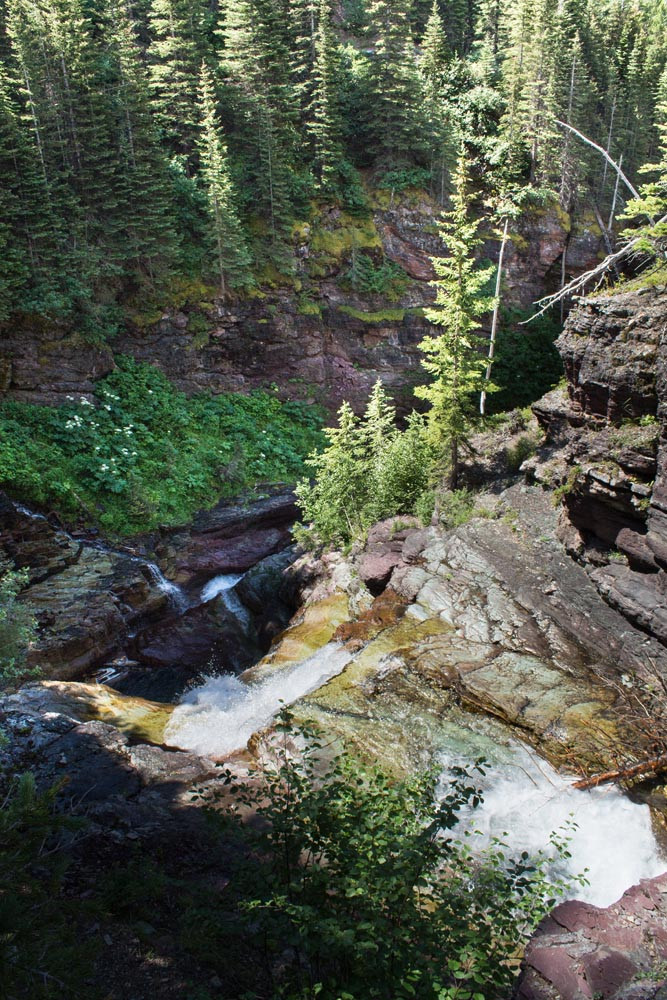 Ptarmigan Falls, Glacier NP