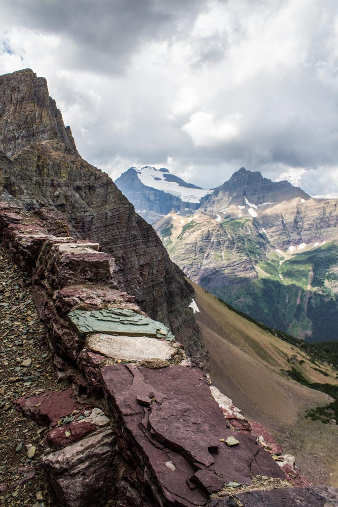 Ahern glacier and ptarmigan trail