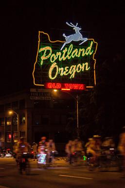 Portland's Neon Sign