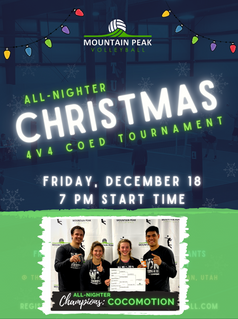 ALL-NIGHTER Christmas Coed