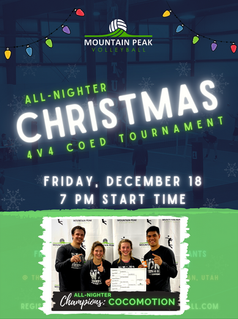 ALL-NIGHTER Christmas Coed