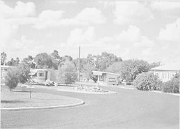 Old photo of caravan park