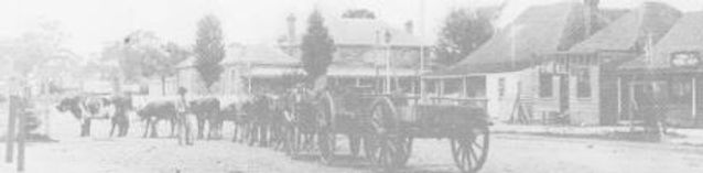 Old photo of town