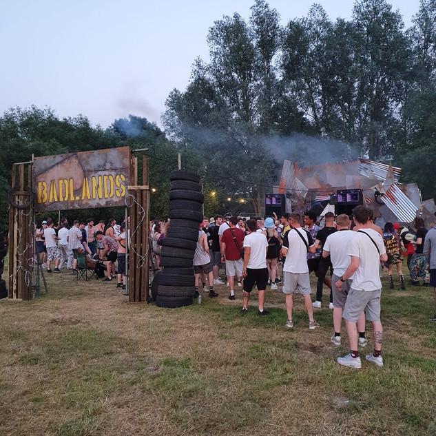 Badlands Stage, Tearout Fest