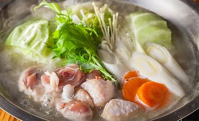 「艶鍋」日本代表の無化調水炊き2人前