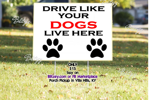 Personalized  Yard Sign