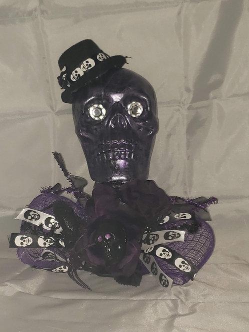 Purple Skull Deco