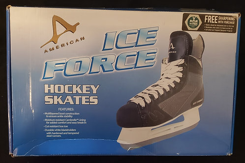 American Athletic Shoe Youth Ice Force 2.0 Hockey Skate (Size 12Y)