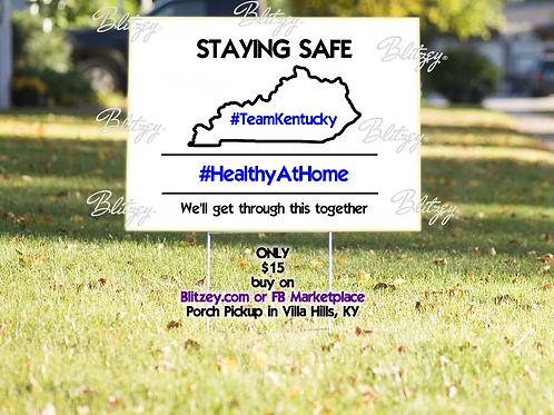 #TeamKY Yard Sign