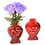 Thumbnail: You are my one and only Heart GLASS Bud Vase