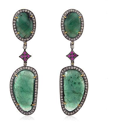 The Celestine Earrings