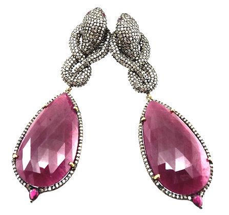 The Delphine earrings