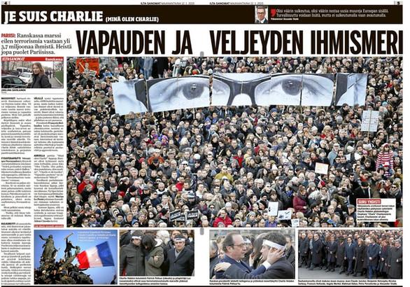 Charlie Hebdo attacks in Paris