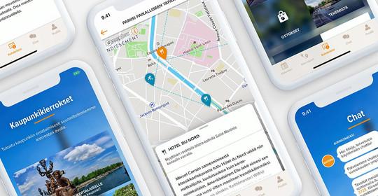 Aurinkomatkat travel app - Paris