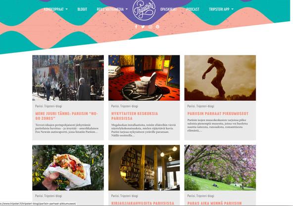 Tripsteri.fi - Sustainable travel portal