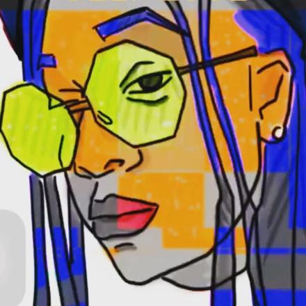 """ Digital Self Portrait"""
