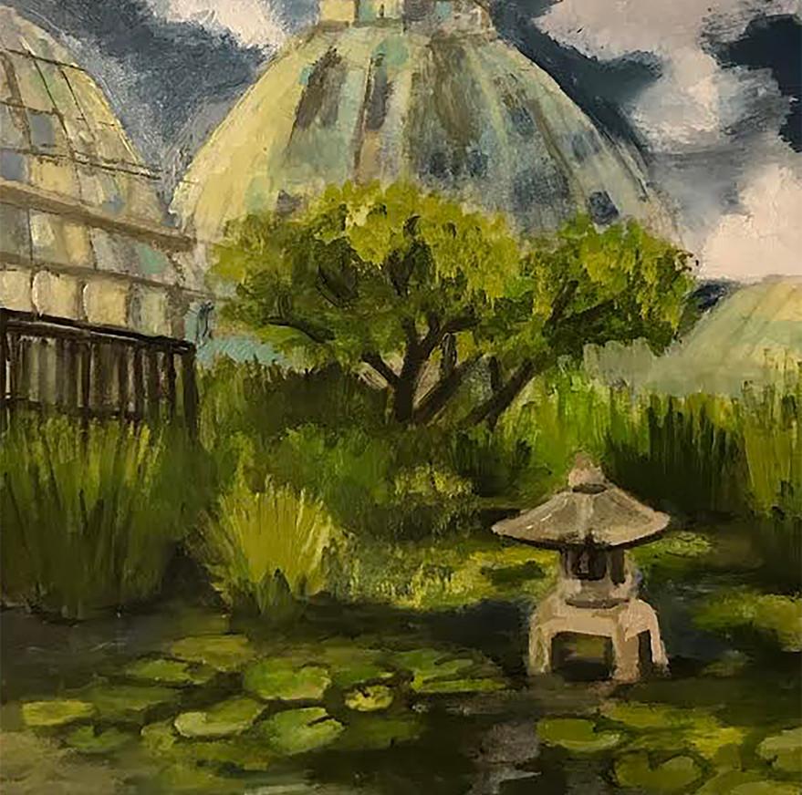 landscape Painting, Oil, 2020