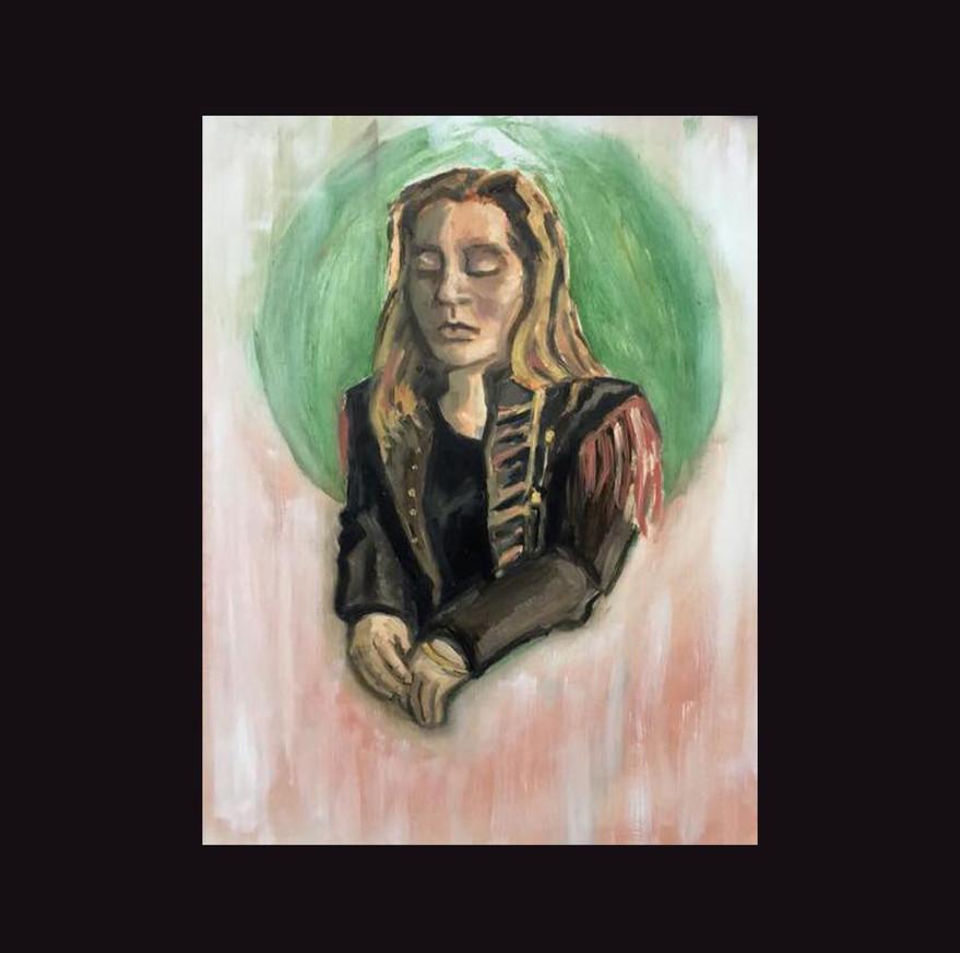 """Portrait of Figure Model"""