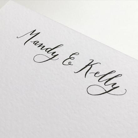 Names on invites