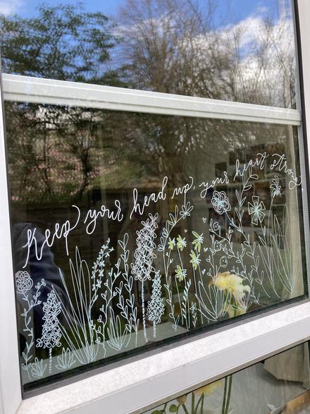Window doodles