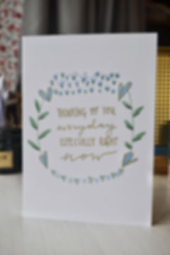 Grief and empathy card