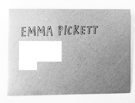 Envelope and invite lettering