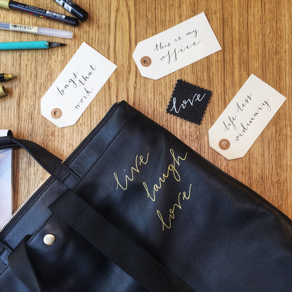Live lettering and brand events