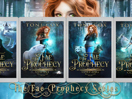 The Fae Prophecy Series Cover Reveal