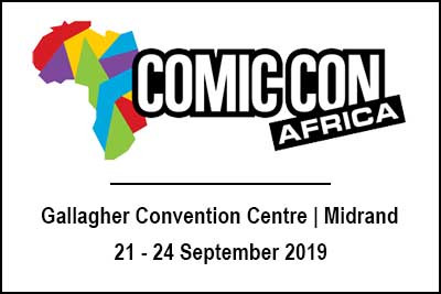 Toni Cox is attending ComicCon Africa 2019