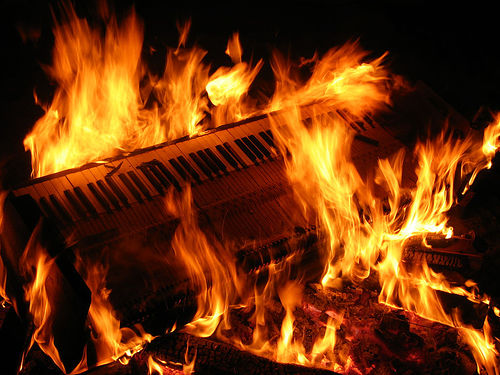 Keyboard+fire