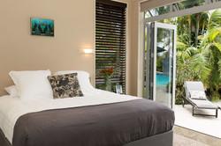 Poolside rooms Haven Suite