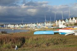 Beach Huts at Hengisbury Head