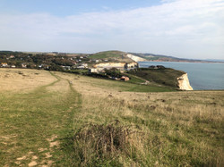 Freshwater IOW from Tennyson Down