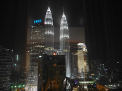 The Petronus Towers in Kuala Lumper