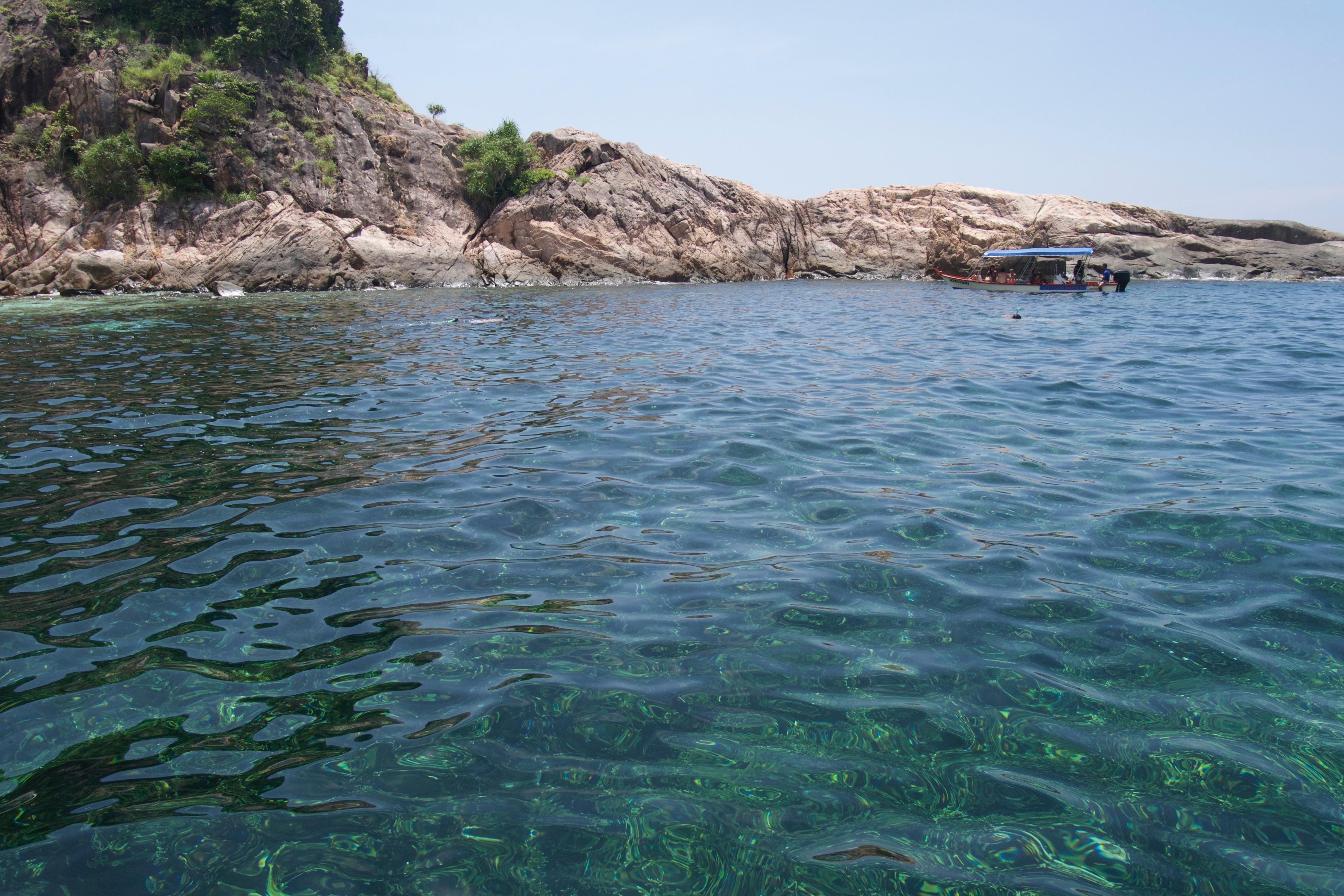 Crystal Clear Sea in Malaysia
