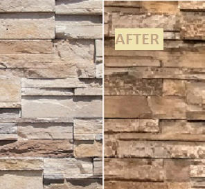 Cultured Stone Staining