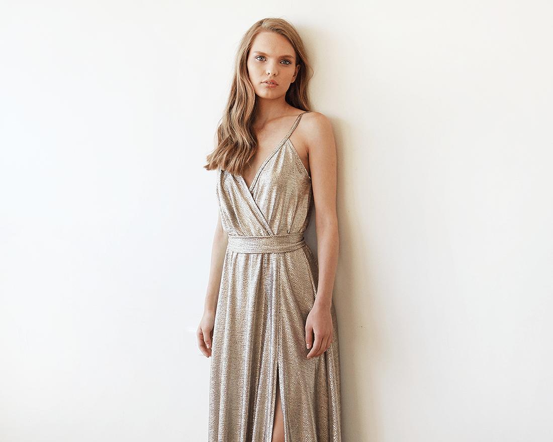 robe gold laglums event, organisateur de mariage