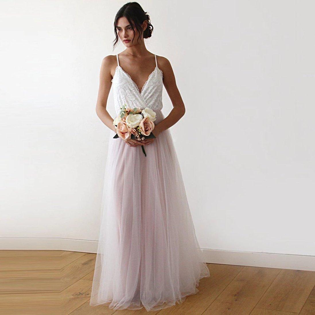 laglums event, organisateur de mariage robe rose