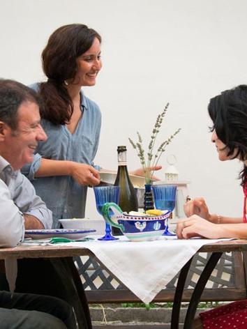 cena in giardino/dinner in the garden