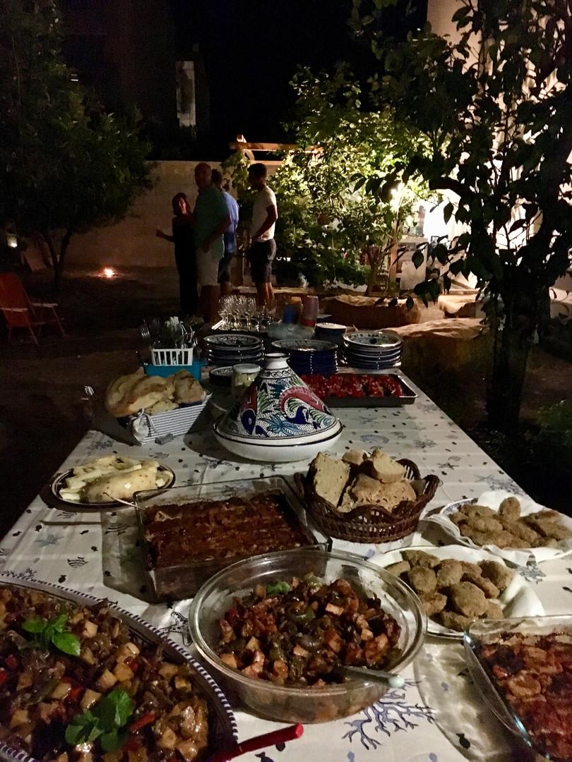 cena in giardino_dinner in the garden