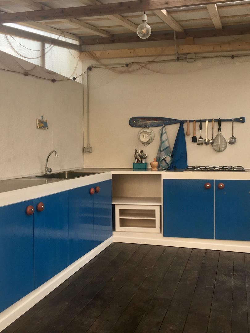 cucina esterna/outdoor kitchen