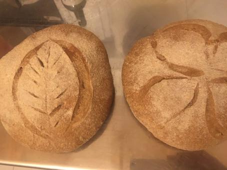 Grani antichi/Pane ad alta idratazione con lievito madre