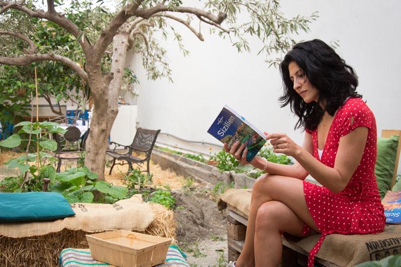 relax in giardino/relax in the garden