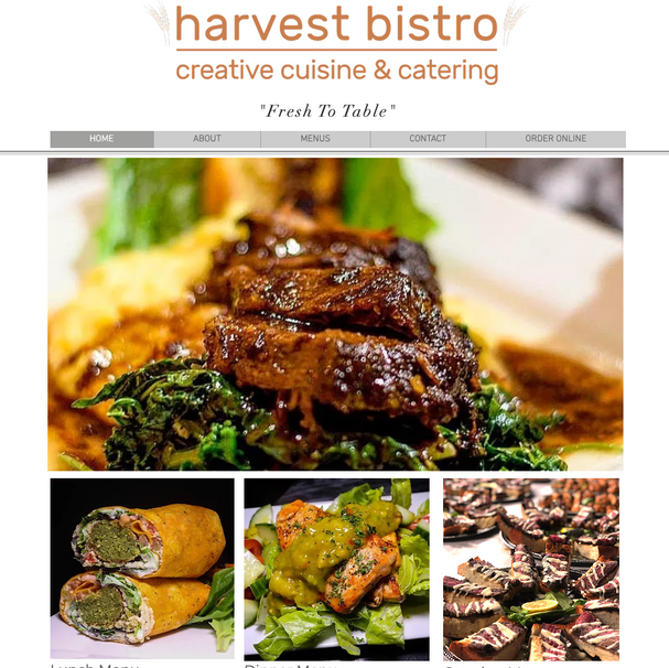 Harvest bistro website and seo example.p