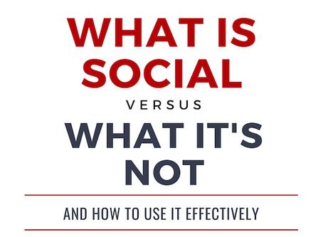 Social Media is NOT